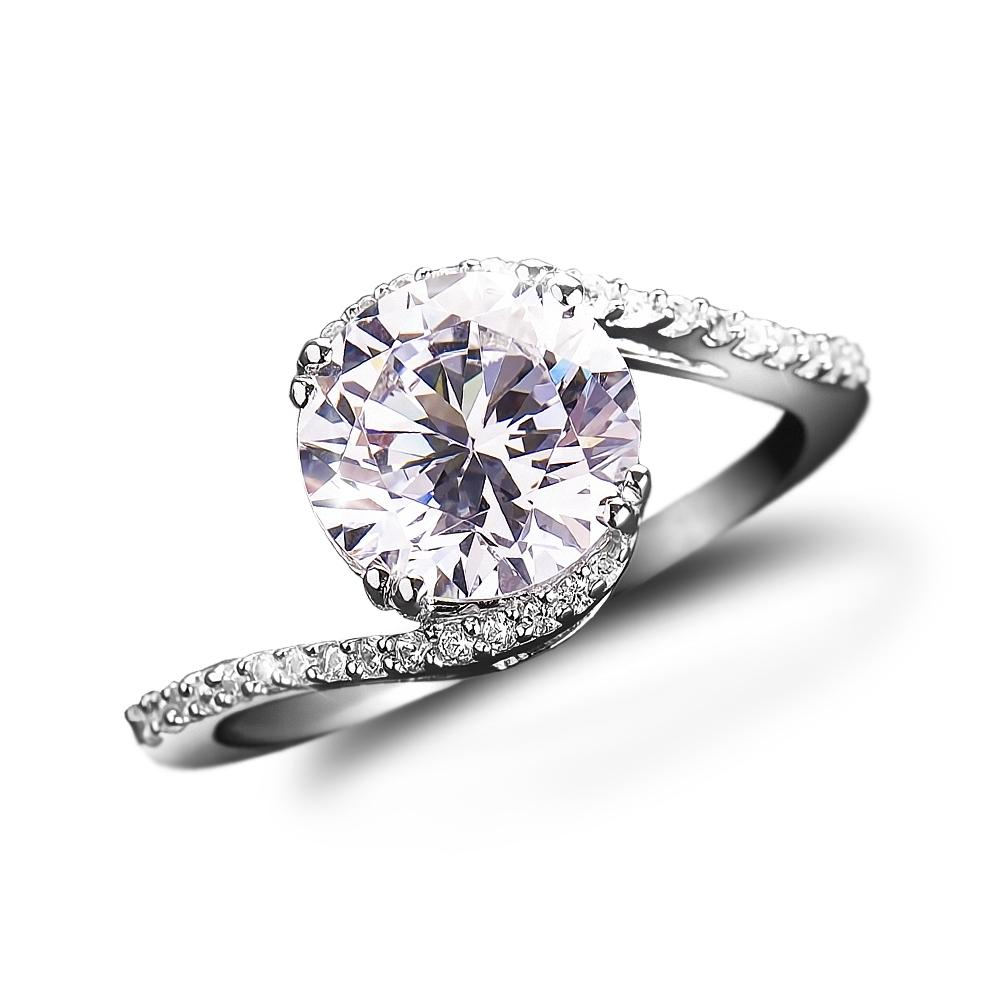 Embrace Solitaire Ring