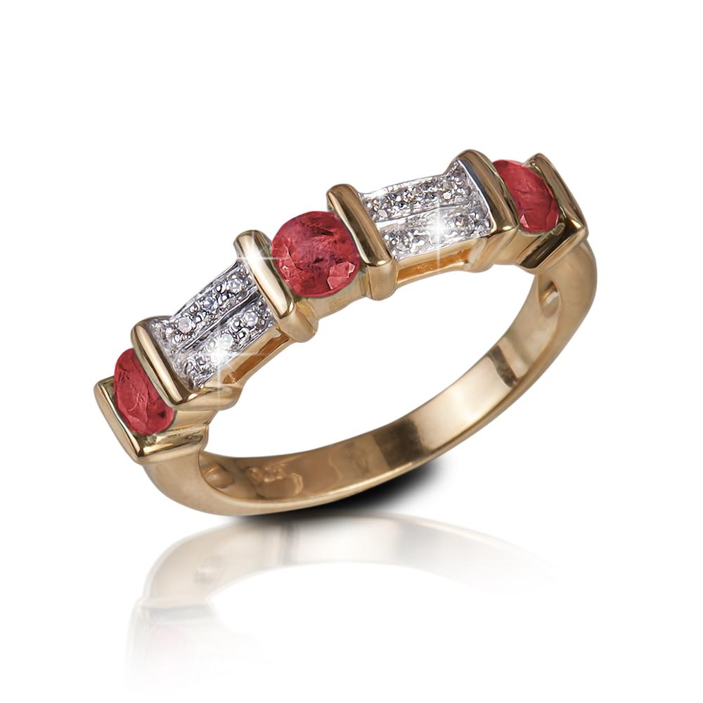 Trieste Ruby Gem Ring