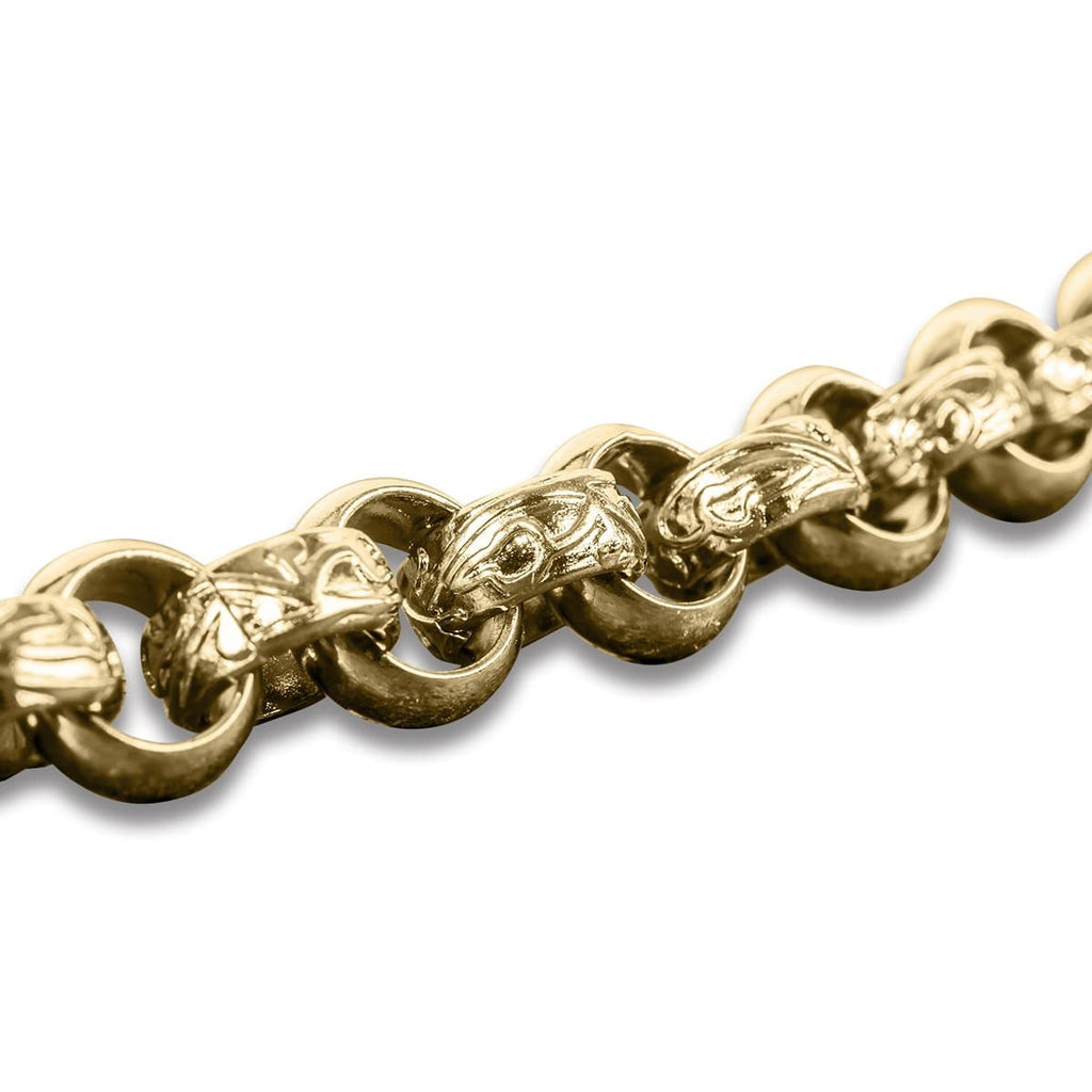 Maxus Golden Steel Bracelet