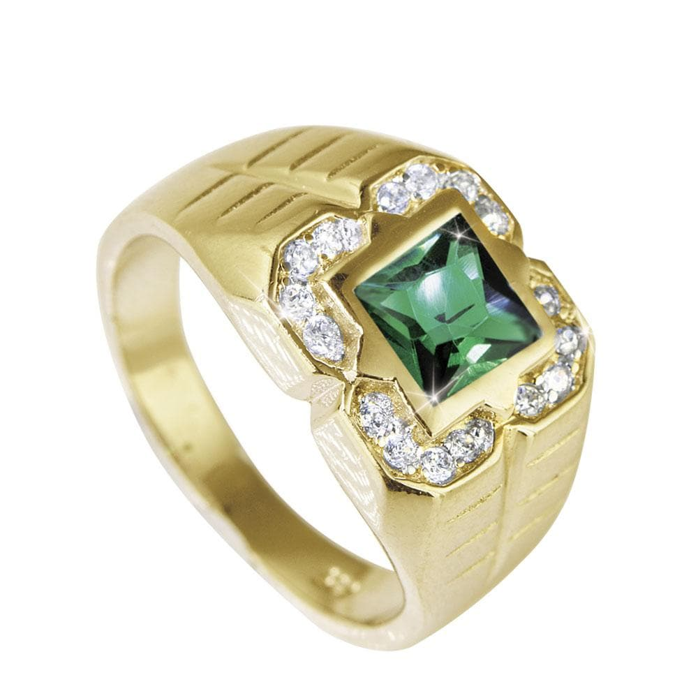 Ranger Men's Emerald Ring