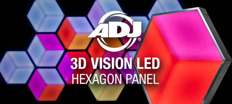 ADJ 3D Vision LED Hexagon Panel Product Spotlight