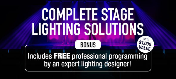 Complete Stage Lighting Solutions