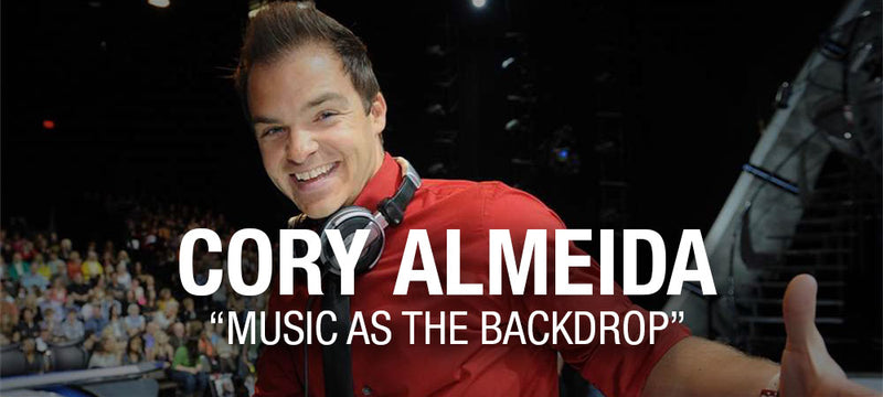 "Cory Almeida ""Music as the Backdrop"""