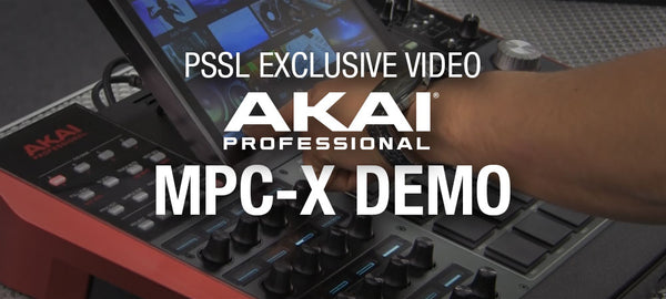Akai MPC X Product Demonstration