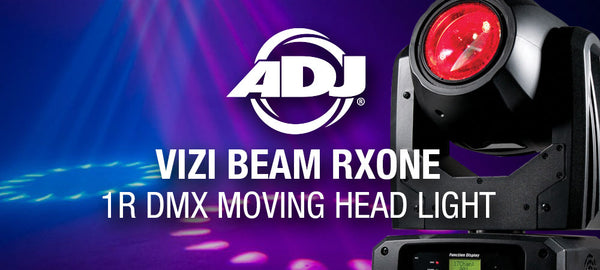 ADJ Vizi Beam RXONE 1R DMX Moving Head Light Product Spotlight
