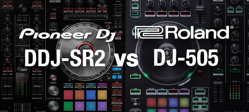 Pioneer DDJ-SR2 and Roland DJ-505: How Do These Iconic DJ Controllers Match Up?