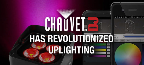 Chauvet DJ Has Revolutionized Uplighting