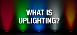 What is uplighting and how does it work?