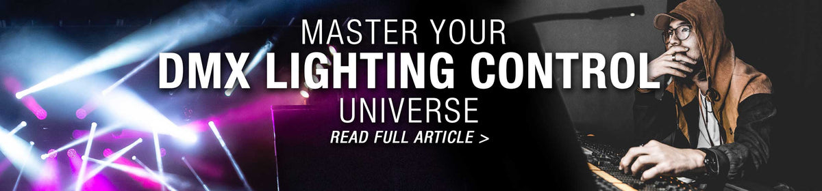 Master Your DMX Lighting Control Universe: Read full article