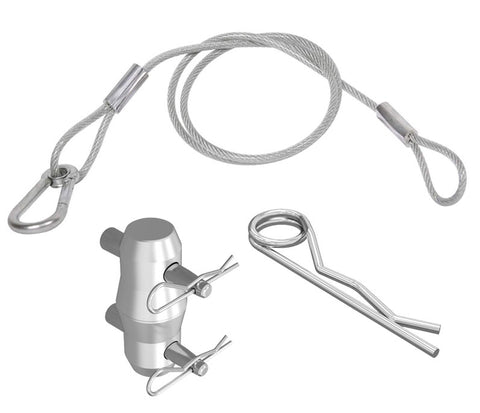 Safety Cable, Couplers & Pin