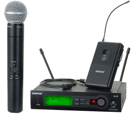Shure SLX Wireless Microphone System