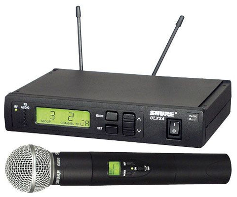Shure ULXS-2458 Wireless Microphone System
