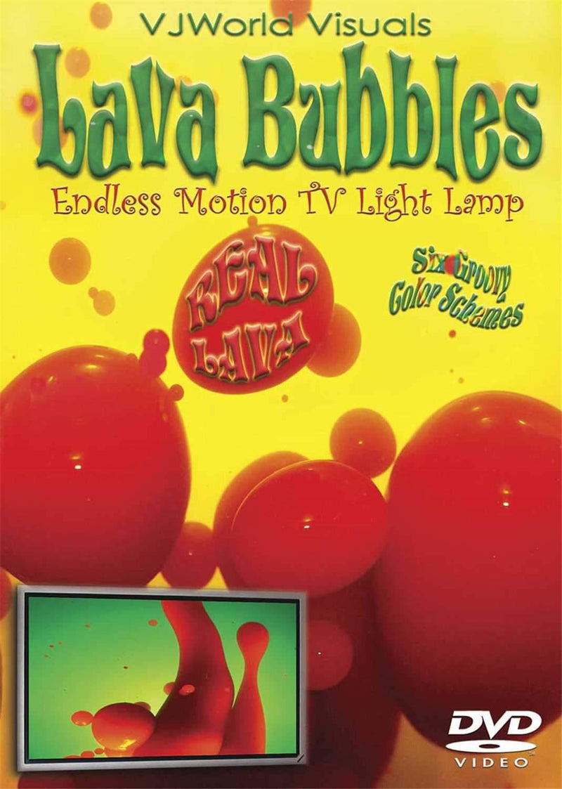 Hal Leonard Lava Bubbles Endless Lava Visual Dvd - PSSL ProSound and Stage Lighting