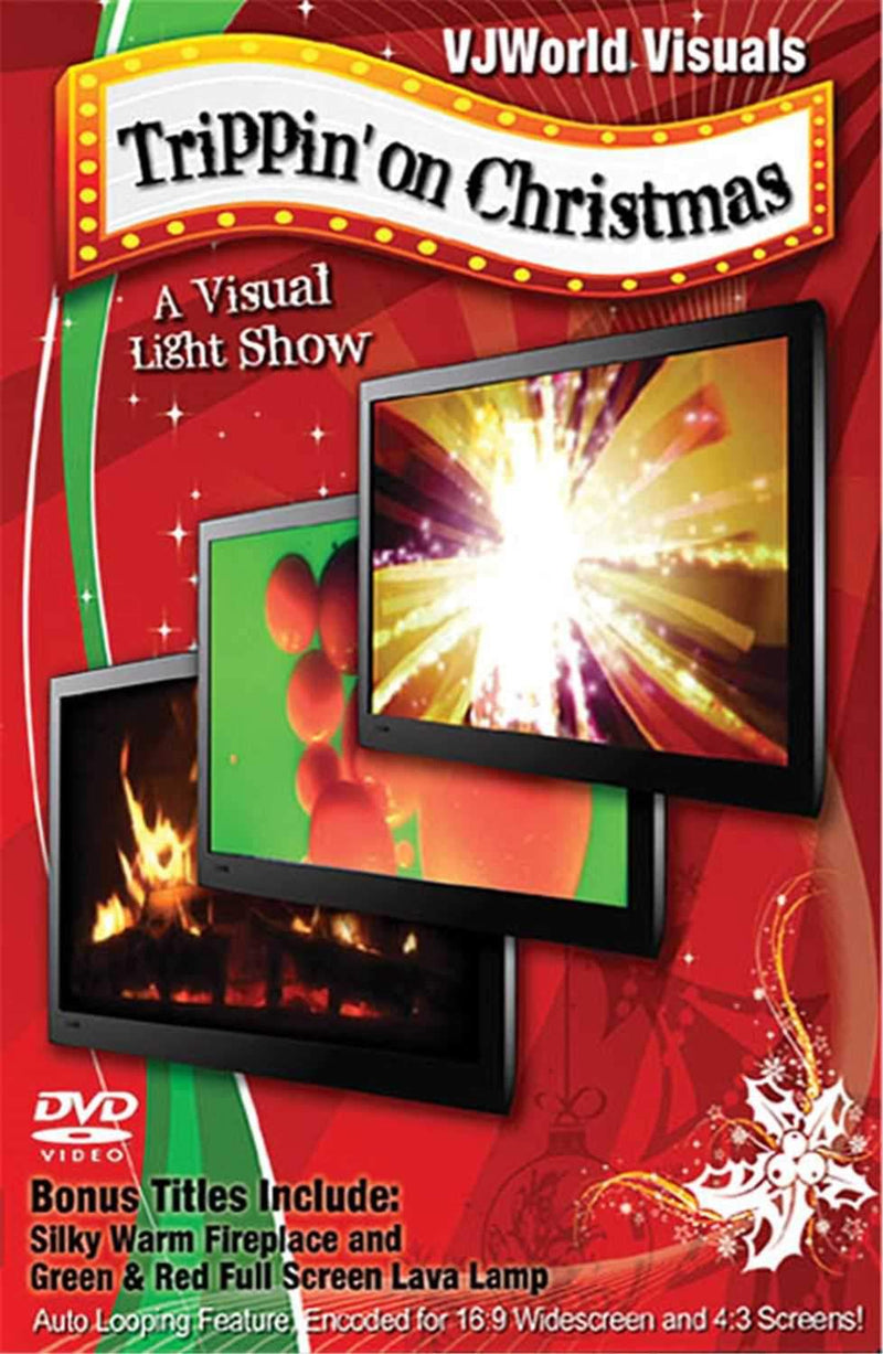 Hal Leonard Trippin On Christmas Visual Dvd - PSSL ProSound and Stage Lighting