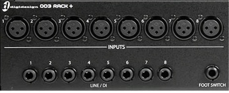 Digidesign 003 Rack-Plus Plus Factory Pro Tools LE - PSSL ProSound and Stage Lighting