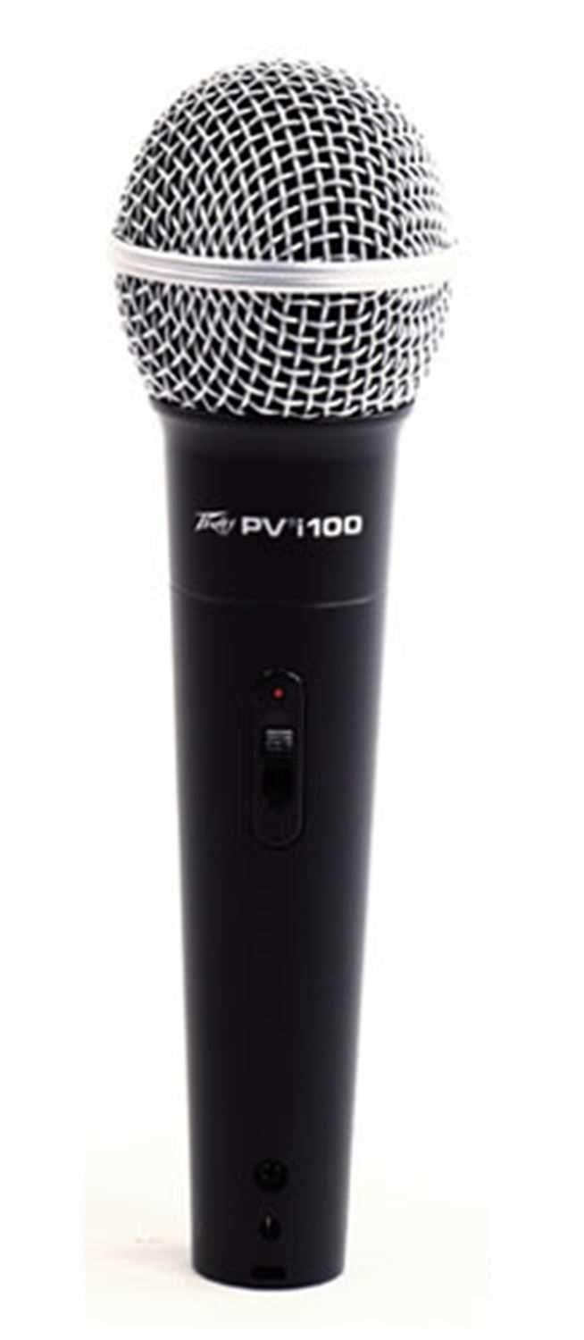 Peavey PVI 100 Dynamic Vocal Microphone with Switch - ProSound and Stage Lighting