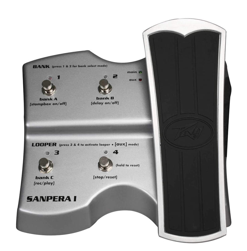 Peavey Sanpera I Guitar Foot Controller - PSSL ProSound and Stage Lighting