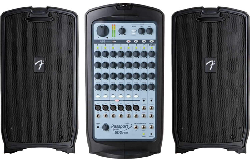 Fender Passport 500 Pro Portable PA System - PSSL ProSound and Stage Lighting