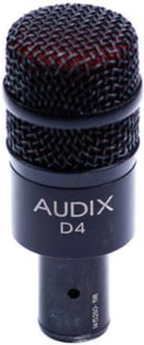 Audix D4 Hypercardioid Dynamic Microphone - ProSound and Stage Lighting