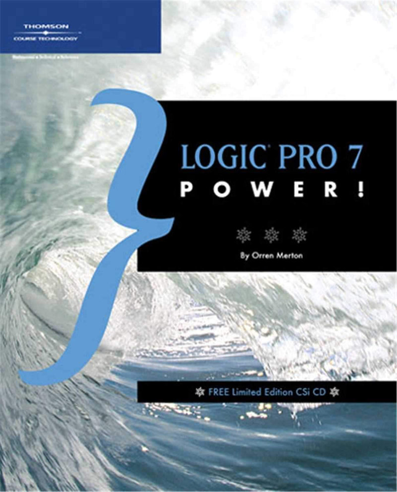 Thomson 1592005411 Logic Pro VII Power (BOOK/CD) - PSSL ProSound and Stage Lighting