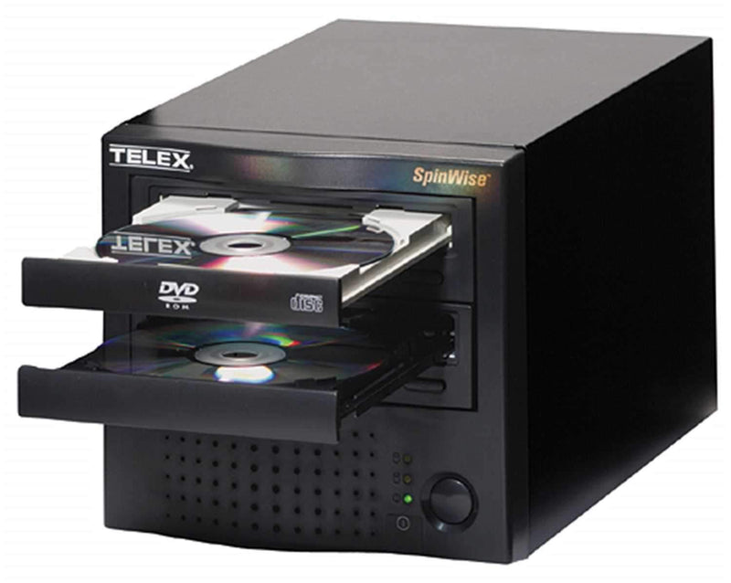 Telex 8X DVD Spinwise Duplicator - ProSound and Stage Lighting