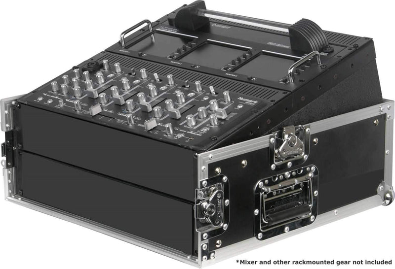 Odyssey FR1002 Flight Mixer Combo Rack Case 10U x 2U - PSSL ProSound and Stage Lighting