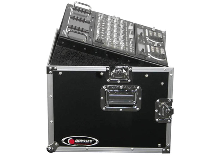 Odyssey FR1006 Mixer Combo Rack Case 10U x 6U - PSSL ProSound and Stage Lighting
