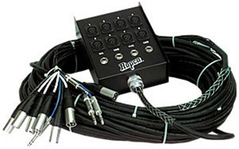 Rapco 100 FT 16 Ch Snake 12(Xlr Send) 4(1/4 Ret) - PSSL ProSound and Stage Lighting