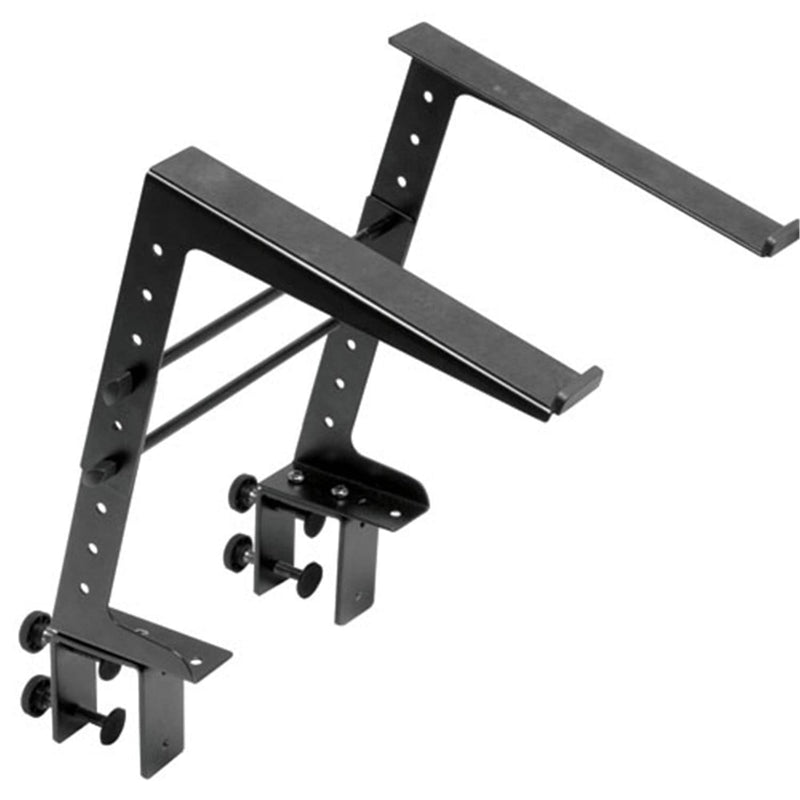 DJ Laptop Computer Stand with Adjustable Clamp - ProSound and Stage Lighting