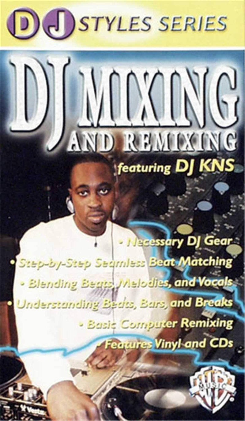 DJ Mixing & Remixing Video - VHS - ProSound and Stage Lighting