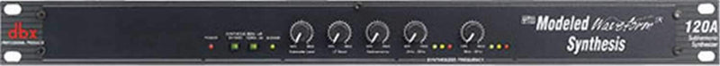 DBX 120A Subharmonic Bass Synthesizer Maximizer - PSSL ProSound and Stage Lighting