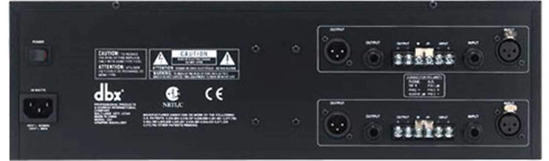 Dbx Dual 31 Band Equalizer - ProSound and Stage Lighting