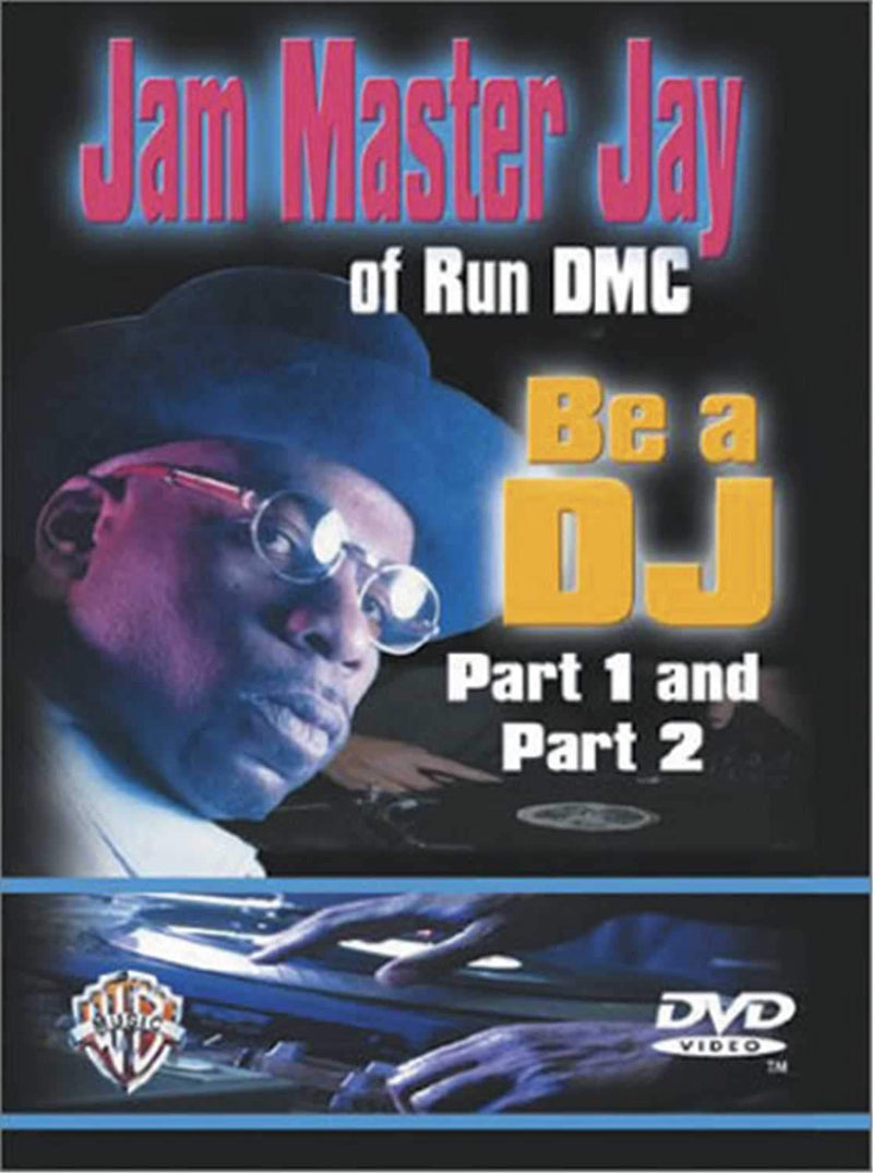 Jam Master Jay Be A DJ Parts 1&2 DVD - PSSL ProSound and Stage Lighting