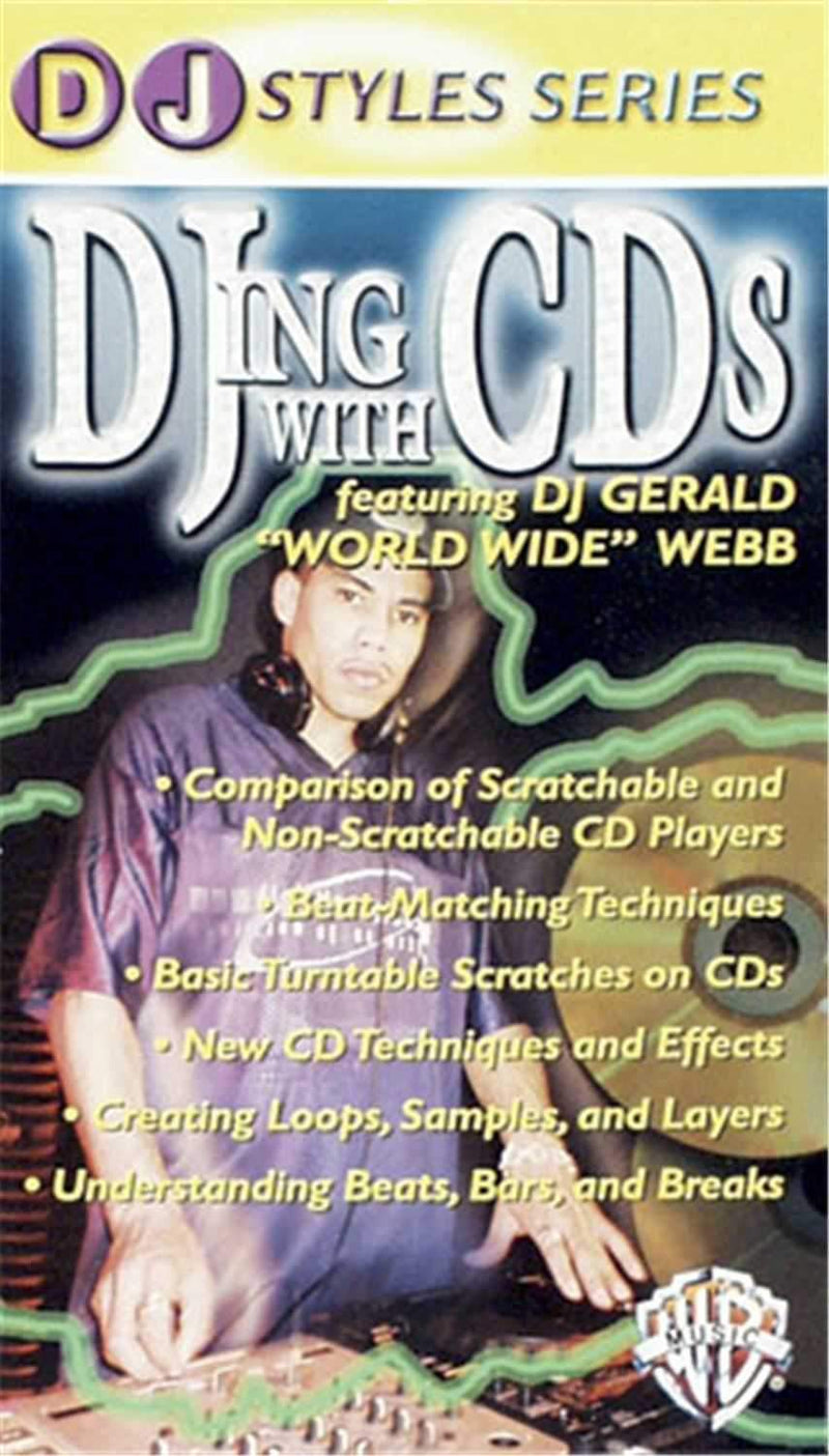 Alfred Publishing DJing with CDs - DVD - PSSL ProSound and Stage Lighting