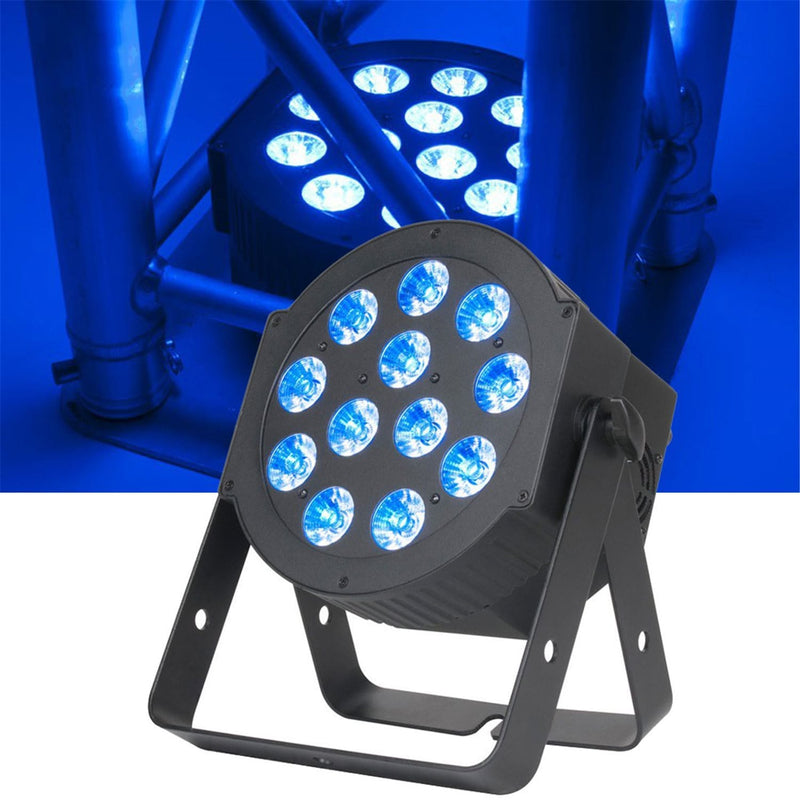 ADJ American DJ 12P HEX RGBAW Plus UV DMX LED Wash Light - PSSL ProSound and Stage Lighting