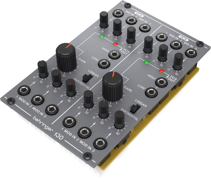 Behringer Analog 130 Dual VCA Module for Eurorack - PSSL ProSound and Stage Lighting
