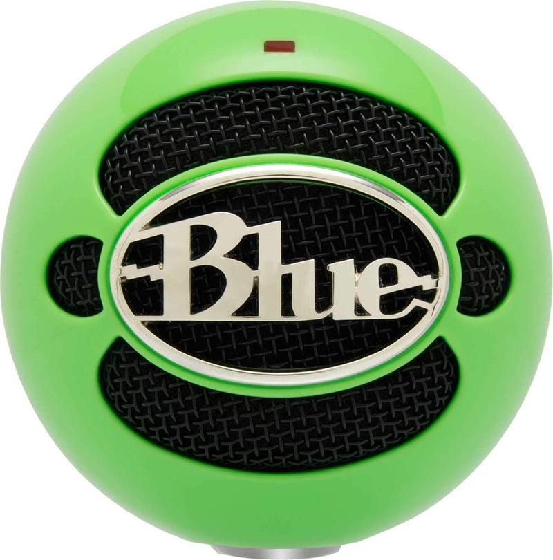 Blue Snowball Pack USB Mic Stand Cable Neon Green - PSSL ProSound and Stage Lighting