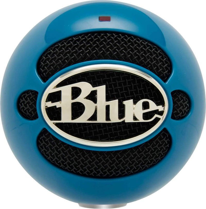 Blue Snowball Pack USB Mic with Stand and Cable in Electric Blue - PSSL ProSound and Stage Lighting