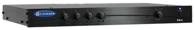 Crown 14M 4In/1 Out Preamplifier/Mixer - PSSL ProSound and Stage Lighting