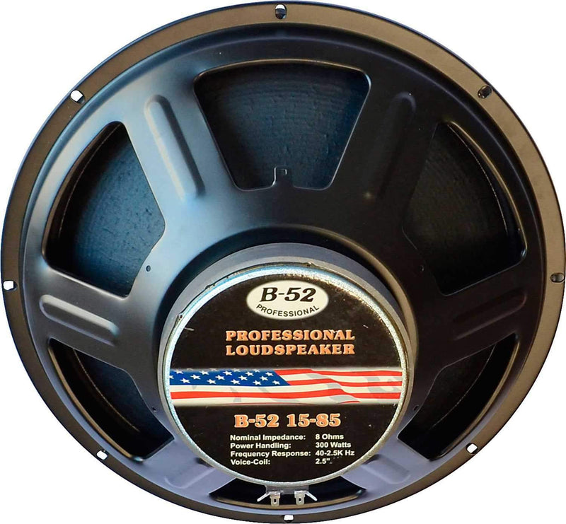 B-52 15-85 15-Inch Stamped-Frame Raw Frame Speaker - ProSound and Stage Lighting