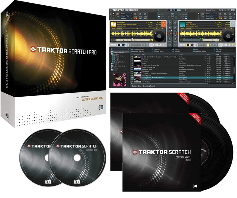 NI Traktor Scratch Pro for Certified Mixers - PSSL ProSound and Stage Lighting