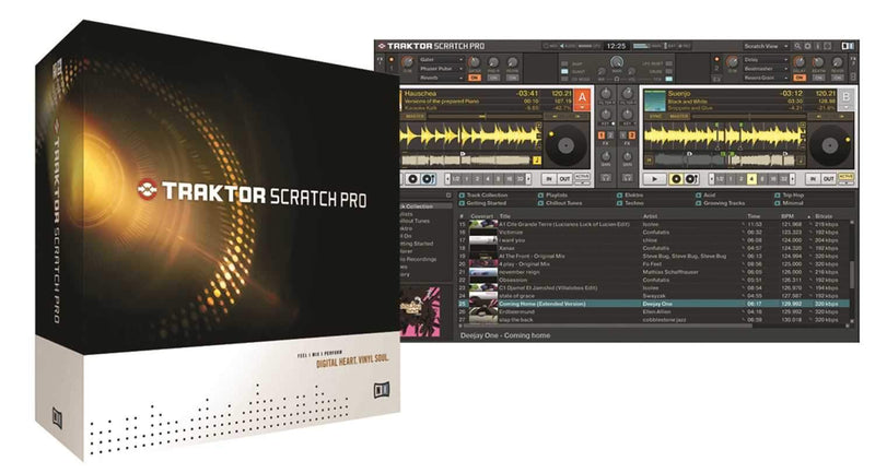 NI Traktor Scratch Pro Upgrade - PSSL ProSound and Stage Lighting
