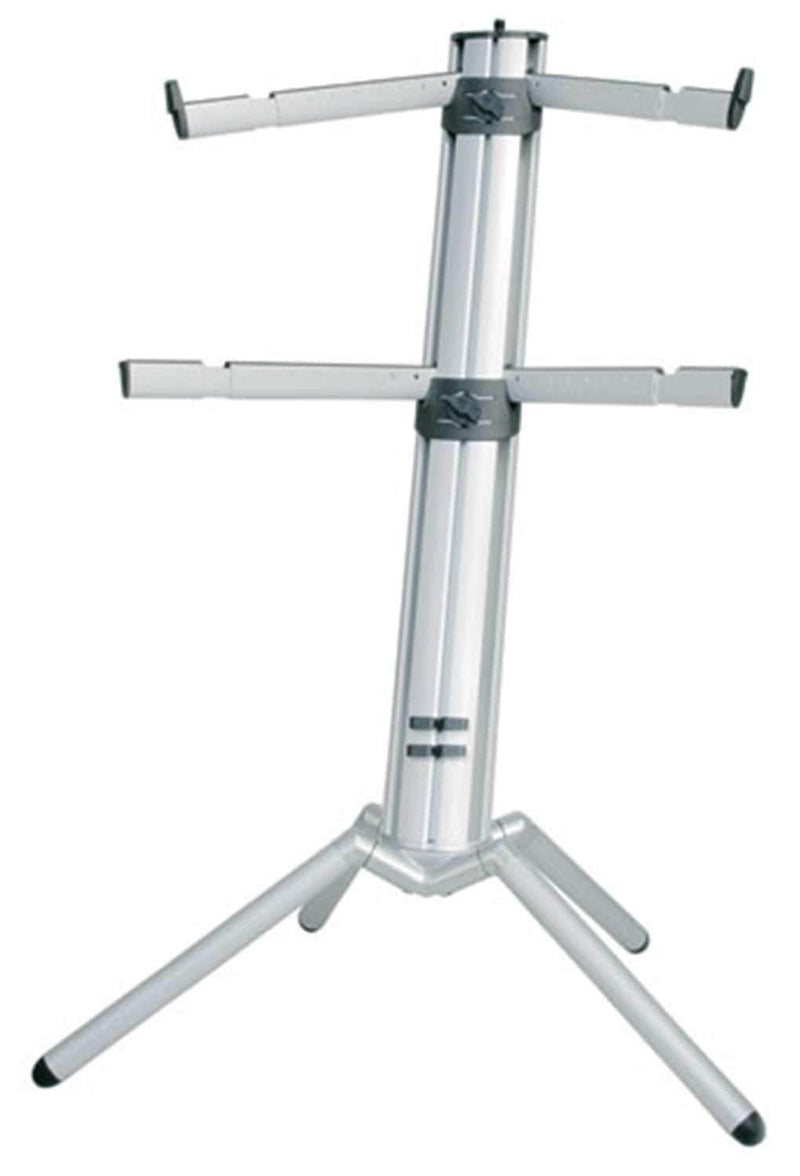 K&M 18860 Spider Pro Anod Aluminum Keyboard Stand - PSSL ProSound and Stage Lighting