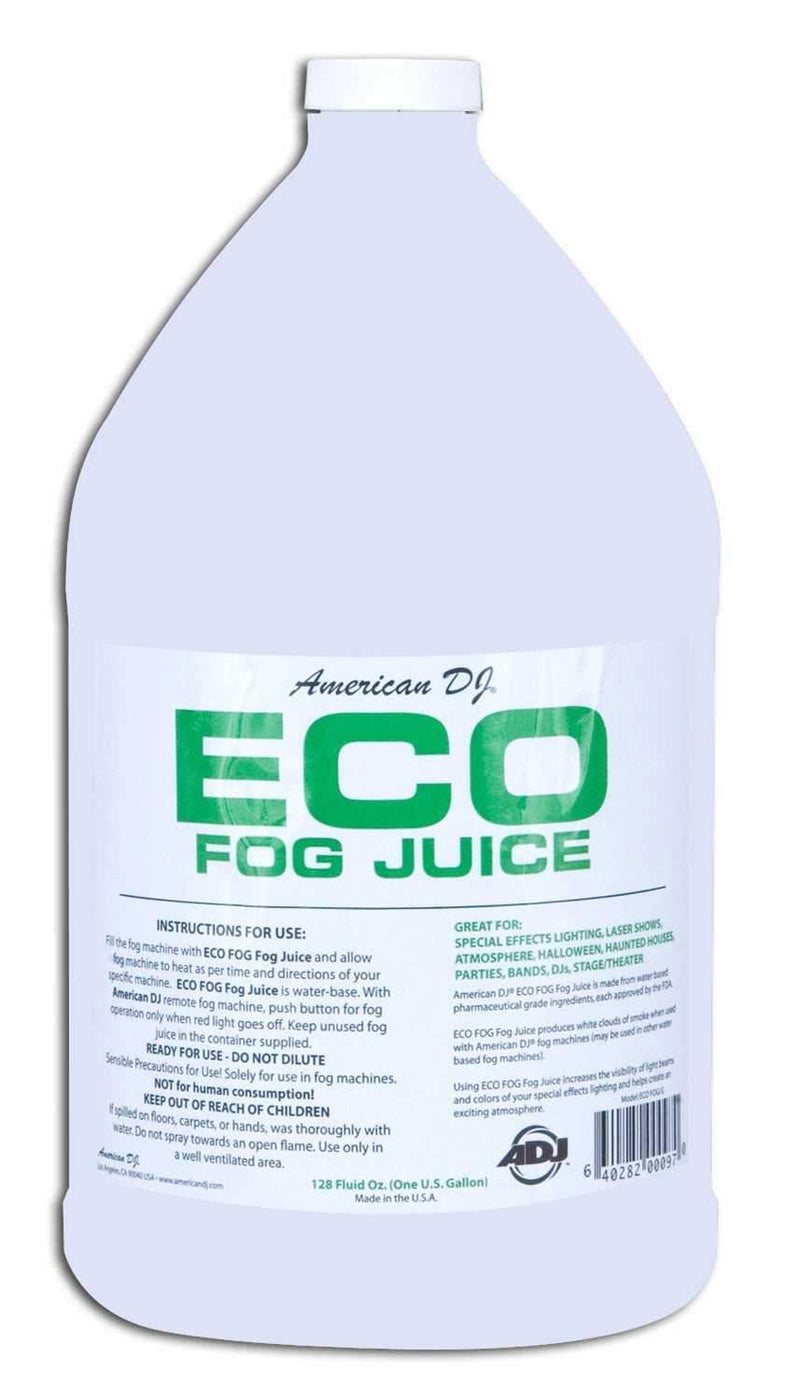 Economy Fog Fluid / Fog Juice 1 Gallon Water Bas - ProSound and Stage Lighting