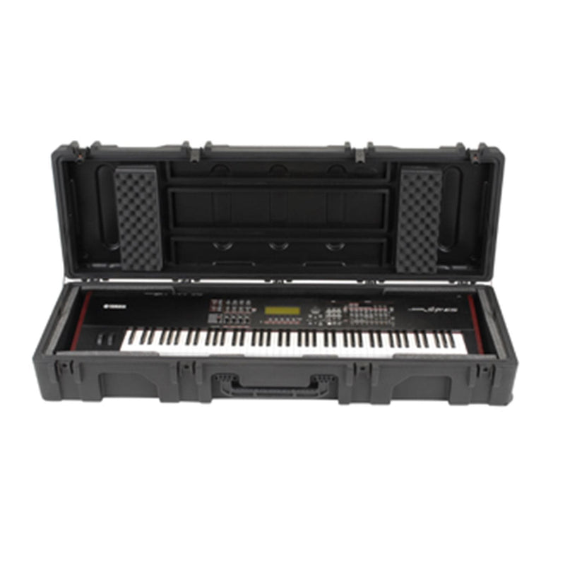 SKB 1R6218W Roto ATA 88 Note Narrow Keyboard Cas - PSSL ProSound and Stage Lighting