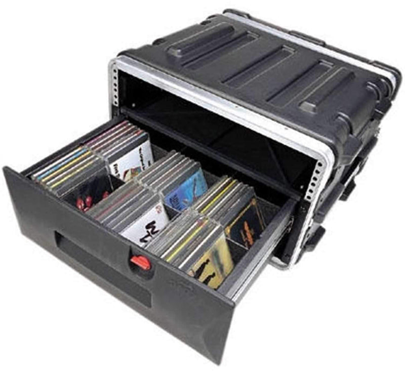 SKB 1SKBDRW4 Molded 4 Space Rack Drawer - ProSound and Stage Lighting