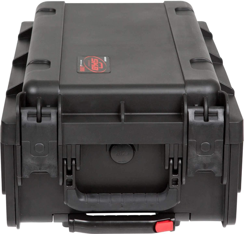 SKB 1SKB-ISF2U Injection Mold Laptop/2U Rack Case - ProSound and Stage Lighting