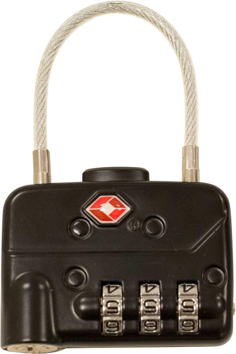 SKB 1SKB-PDL-C TSA Pad Cable Locks (2-pack) - PSSL ProSound and Stage Lighting