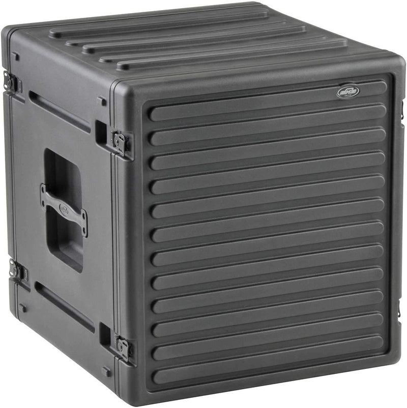 SKB 1SKB-R12U 12 Space Roto Molded Rack Case - PSSL ProSound and Stage Lighting