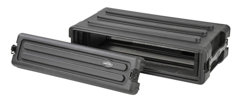 SKB 1SKB-R2S 2U Shallow Roto Rack with Steel Rails - PSSL ProSound and Stage Lighting